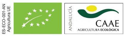 Certificado CAAE (Comité Andaluz de Agricultura Ecológica). Certificado Europeo de Agricultura Ecológica.