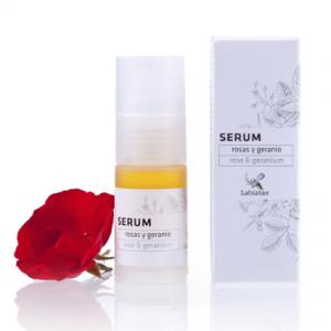 serum de rosas y geranio